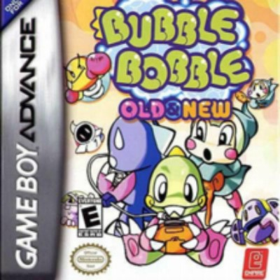 Bubble Bobble: Old & New Cover Art