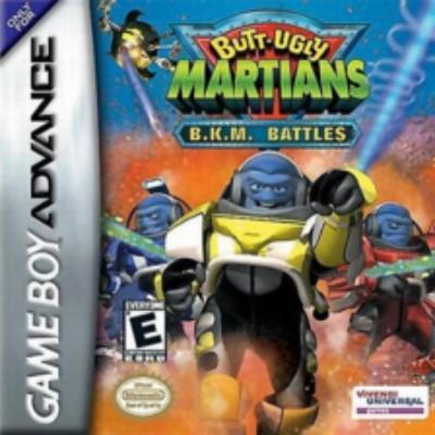 Butt Ugly Martians BKM Battles Cover Art