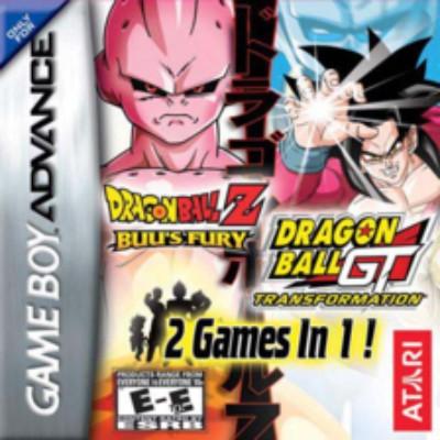 Dragon Ball Z: Buu's Fury & Dragon Ball GT: Transformation Cover Art