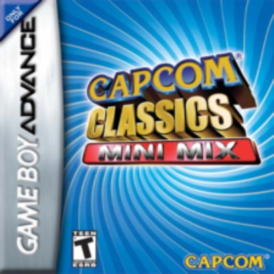 Capcom Classics: Mini Mix Cover Art