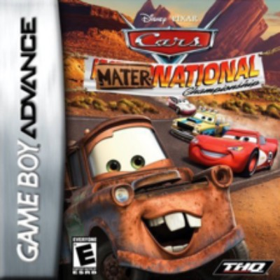 Cars: Mater-National Championship Cover Art