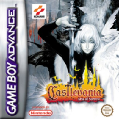 Castlevania: Aria of Sorrow Cover Art