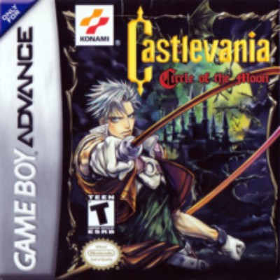 Castlevania: Circle of the Moon Cover Art