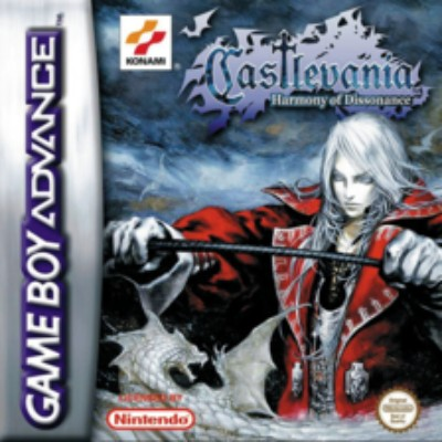 Castlevania: Harmony of Dissonance Cover Art