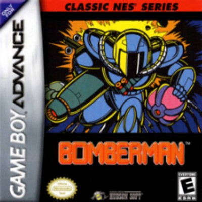 Bomberman [Classic NES Series] Cover Art