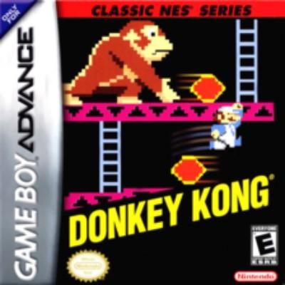 Donkey Kong [Classic NES Series] Cover Art