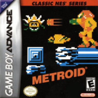 Metroid [Classic NES Series] Cover Art