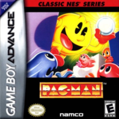 Pac-Man [Classic NES Series] Cover Art