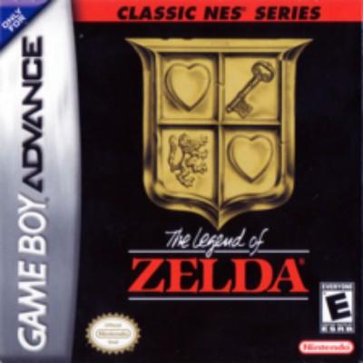 The Legend of Zelda [Classic NES Series] Cover Art