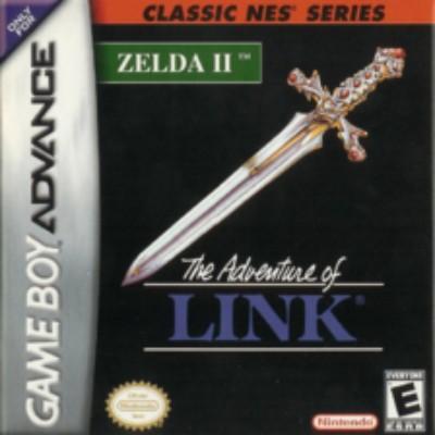 Zelda II: The Adventure of Link [Classic NES Series] Cover Art