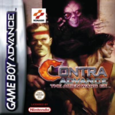 Contra Advance: The Alien Wars EX Cover Art