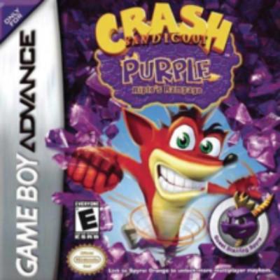 Crash Bandicoot: Purple Ripto's Rampage Cover Art