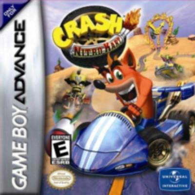 Crash Nitro Kart Cover Art