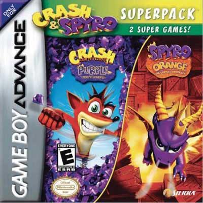 Crash & Spyro Super Pack Cover Art