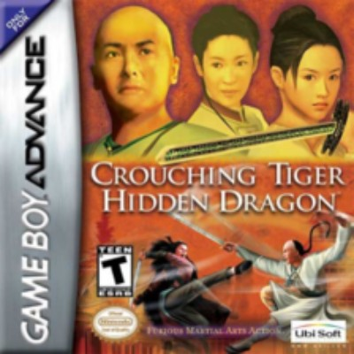 Crouching Tiger Hidden Dragon Cover Art