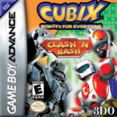 Cubix: Robots for Everyone: Clash 'n Bash Cover Art