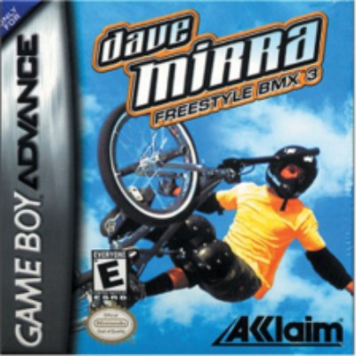 Dave Mirra Freestyle BMX 3 Cover Art