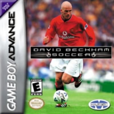 David Beckham Soccer Cover Art