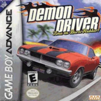 Demon Driver: Time to Burn Rubber! Cover Art