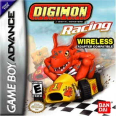 Digimon Racing Cover Art