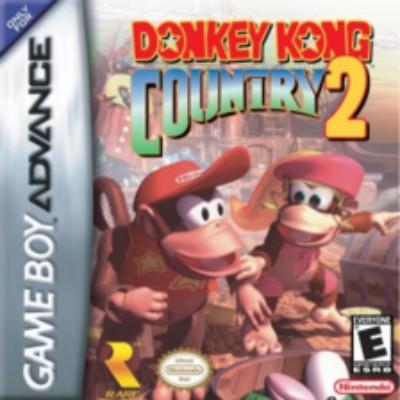 Donkey Kong Country 2 Cover Art