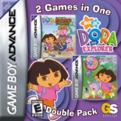 Dora the Explorer: Double Pack Cover Art