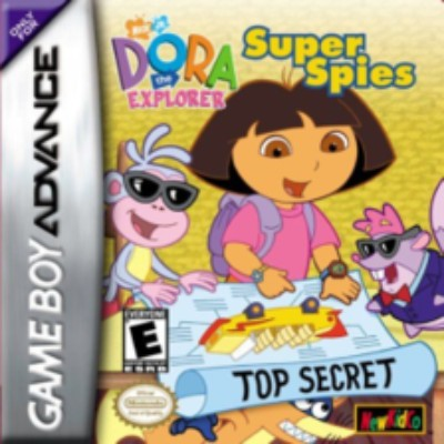 Dora the Explorer: Super Spies Cover Art