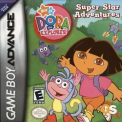 Dora the Explorer: Super Star Adventures Cover Art