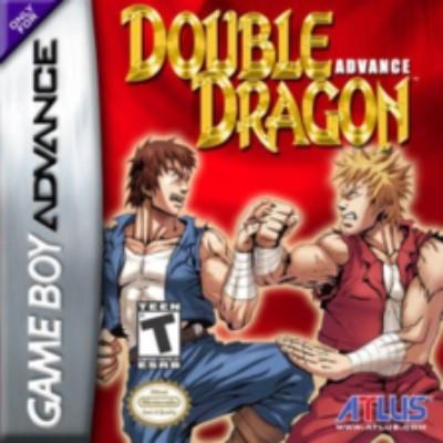 Double Dragon Advance Cover Art