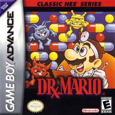 Dr. Mario [Classic NES Series] Cover Art