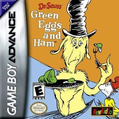 Dr. Seuss: Green Eggs and Ham Cover Art