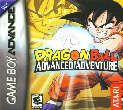 Dragon Ball: Advanced Adventure Cover Art