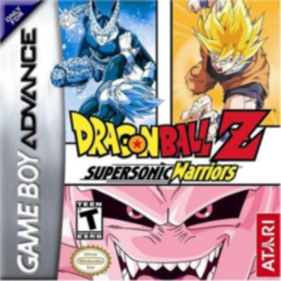 Dragon Ball Z: Supersonic Warriors Cover Art