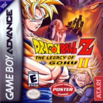 Dragon Ball Z: The Legacy of Goku II Cover Art