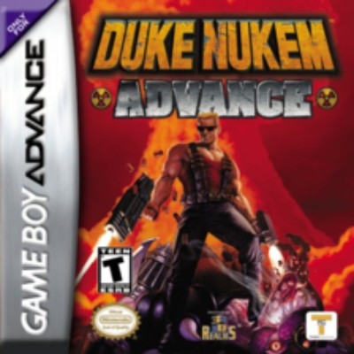 Duke Nukem Advance Cover Art