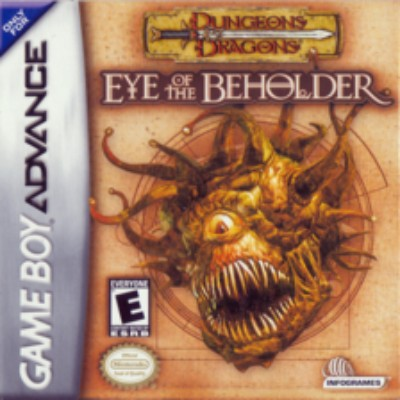 Dungeons and Dragons: Eye of the Beholder Cover Art