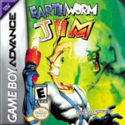 Earthworm Jim Cover Art