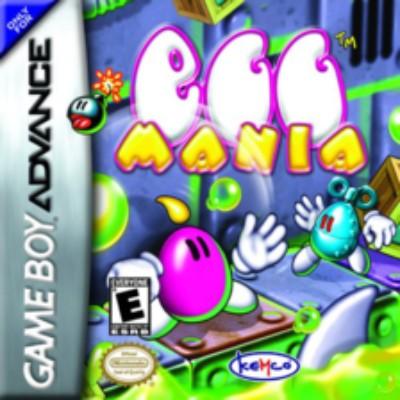 Egg Mania Cover Art