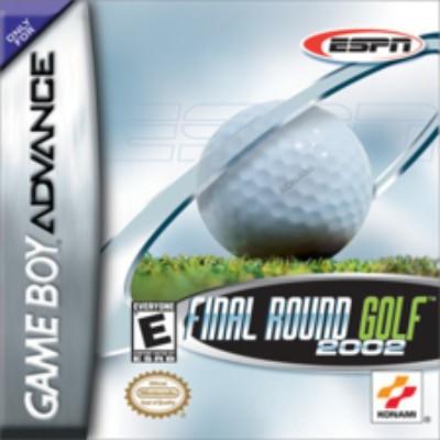 ESPN Final Round Golf 2002 Cover Art