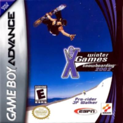 ESPN Winter X-Games Snowboarding 2002 Cover Art