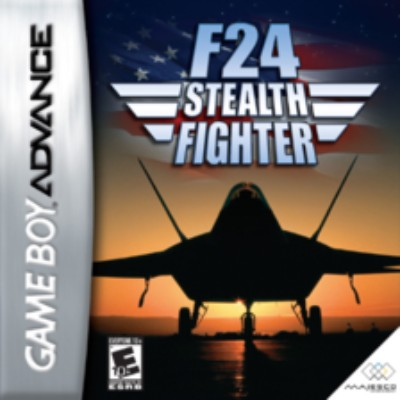 F-24 Stealth Fighter Cover Art
