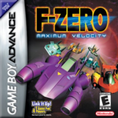 F-Zero: Maximum Velocity Cover Art