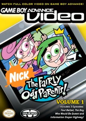 GBA Video: The Fairly Odd Parents! Volume 1 Cover Art