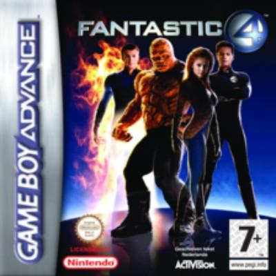 Fantastic 4 Cover Art