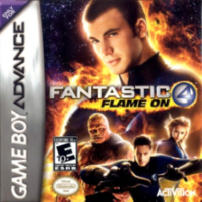 Fantastic 4: Flame On Cover Art