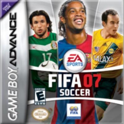 FIFA Soccer 07 Cover Art