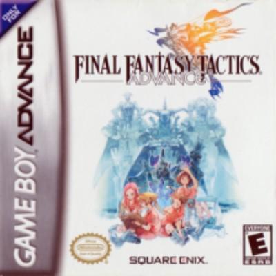 Final Fantasy Tactics Advance Cover Art