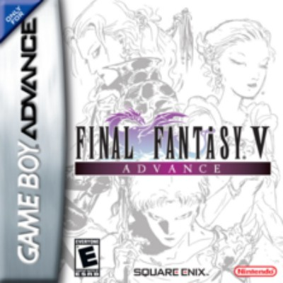 Final Fantasy V Advance Cover Art