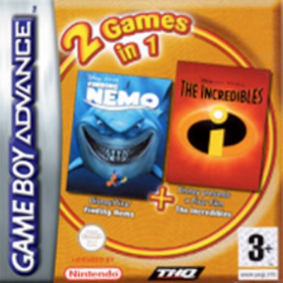 Finding Nemo & The Incredibles Cover Art