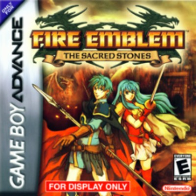 Fire Emblem: The Sacred Stones Cover Art